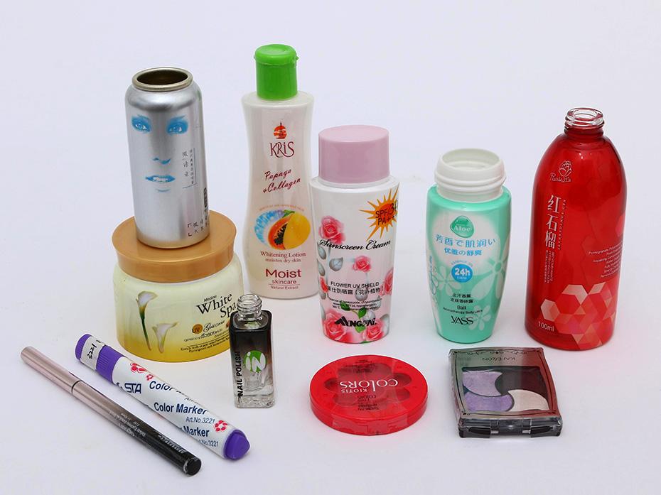 化妆品收缩膜标签