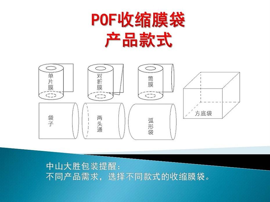 POF收缩膜袋产品款式