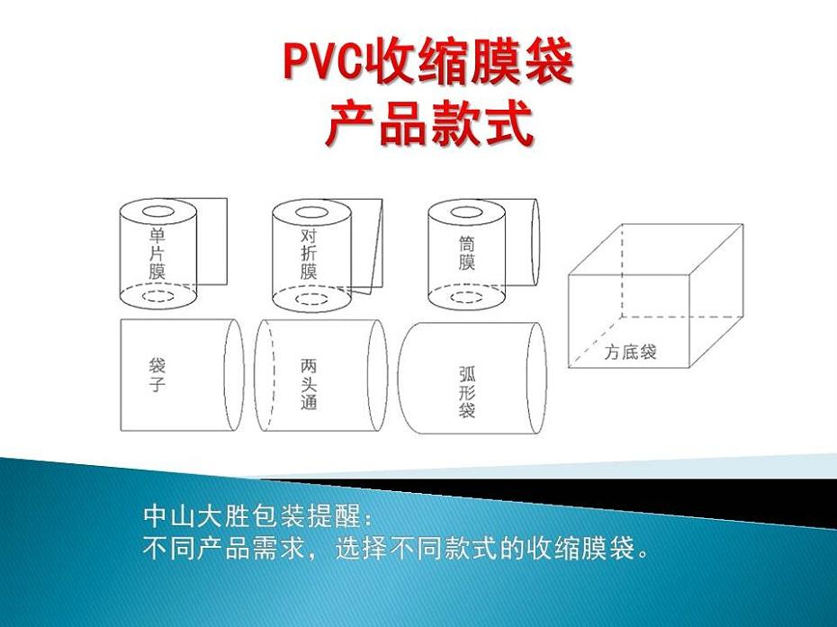 PVC收缩膜袋产品款